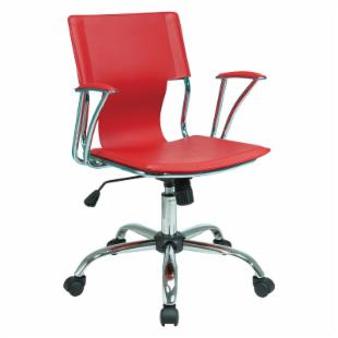 Office Star Avenue Six Red Office Desk Chair  :  desk chair chairs computers