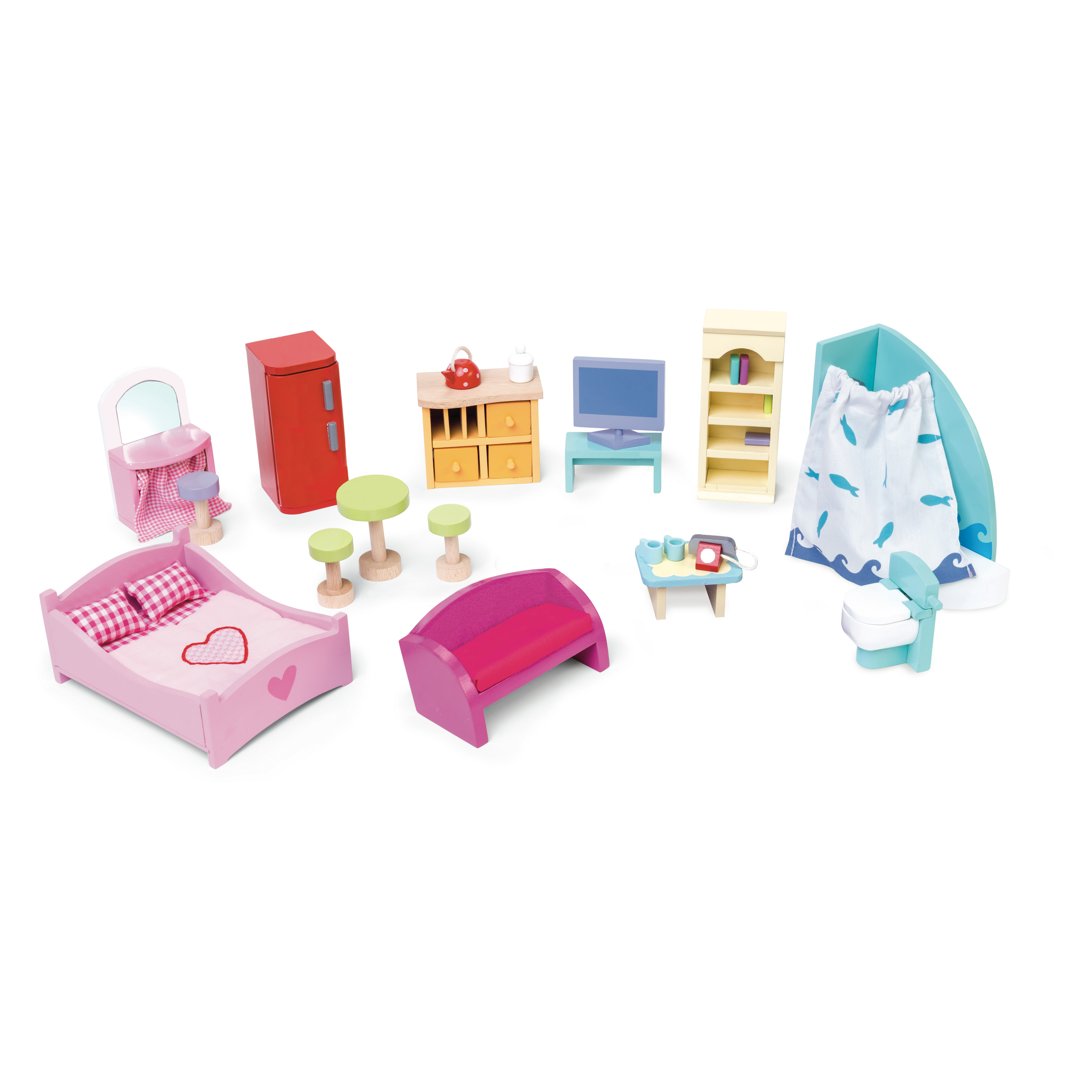 Le Toy Van Deluxe Starter Furniture Set Toy Dollhouse