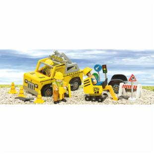 Le Toy Van Road Work Set