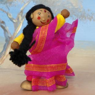 Le Toy Van Indian Dancer Jasmin - Set of 4