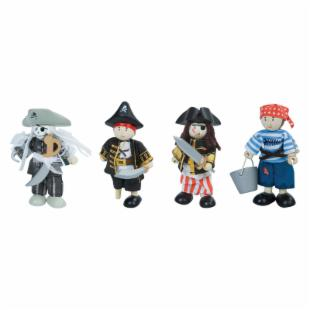Le Toy Van Pirates - Set of 4