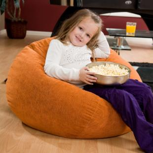 Fashion Medium Corduroy Bean Bag Chair