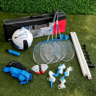 Halex Select Combination Volleyball/ Badminton Set