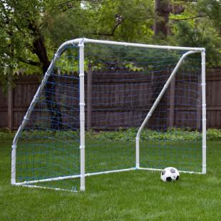 Mitre Challenger PVC Portable Soccer Goal - 6&#39; x 5&#39;