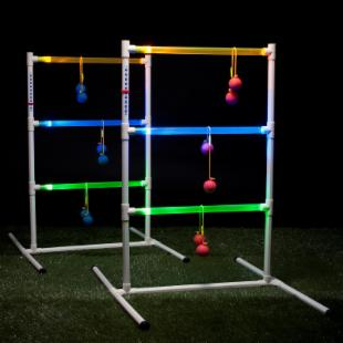 Halex Lite Glow Ladder Ball Game