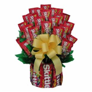 All Skittles&trade; Candy Bouquet