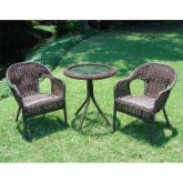 Somerset Wicker Resin Patio Bistro Set