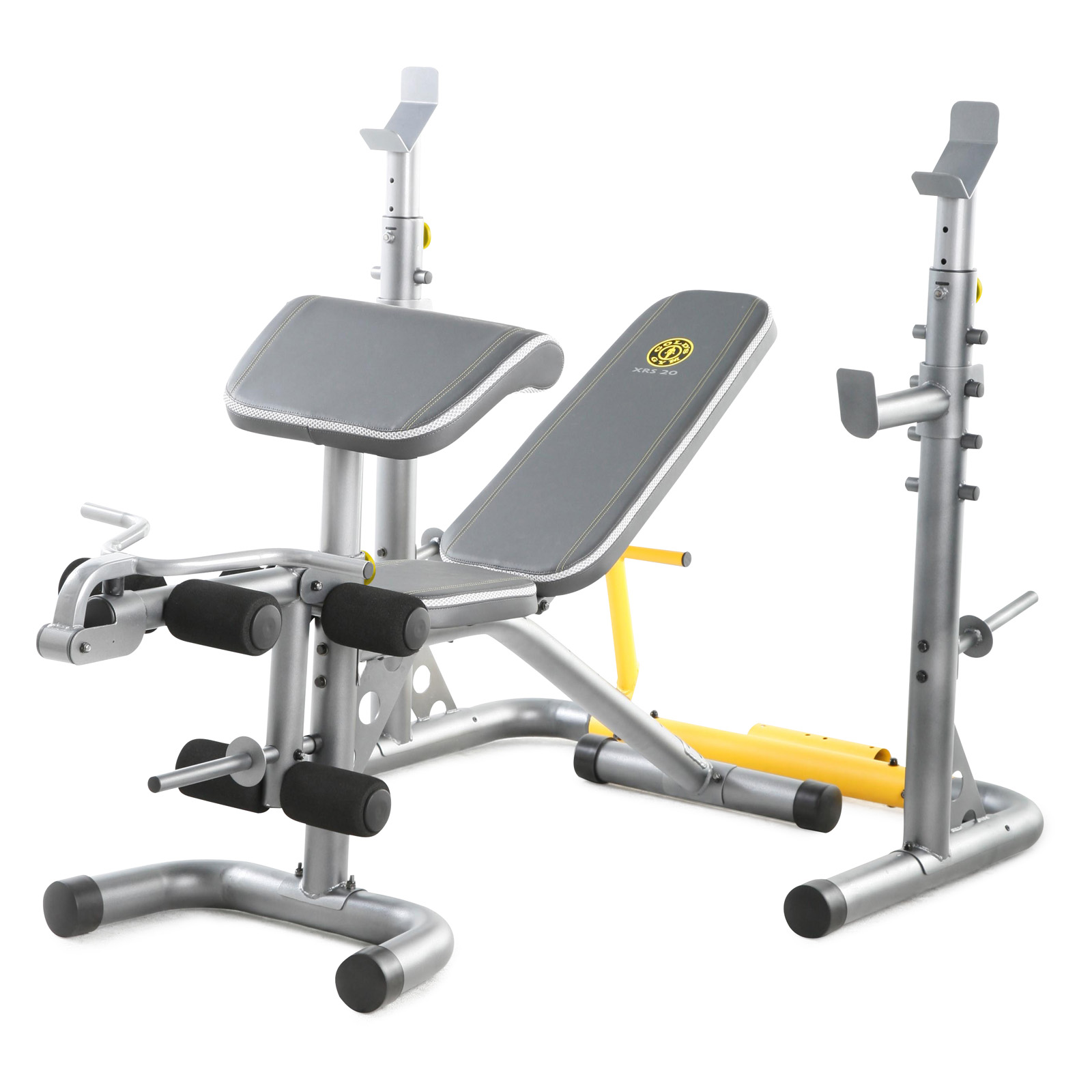 Golds gym xrs20 weight bench weight benches at hayneedle Weight set and bench