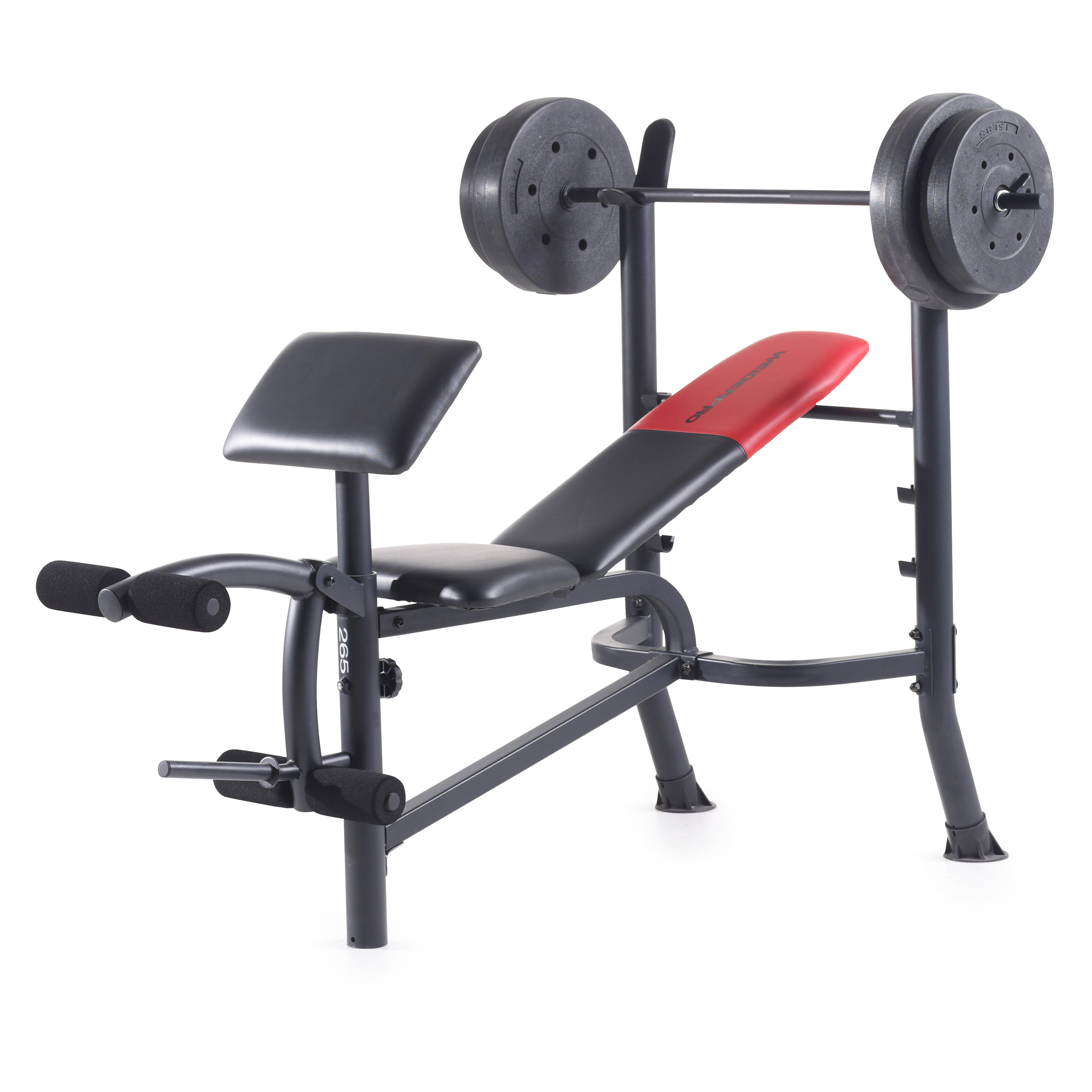 Weider Pro 265 Bench Press Bench Presses At Hayneedle