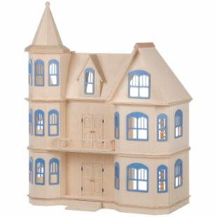 Guidecraft Victorian Dollhouse Kit  - 1 Inch Scale