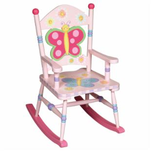 Guidecraft Butterfly Around Rocking Chair
