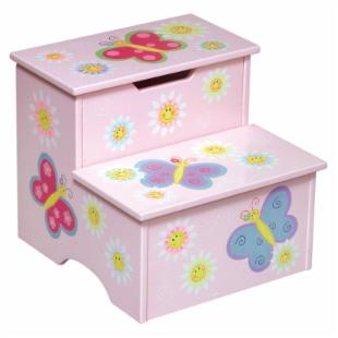 Guidecraft Butterfly Around Step Stool