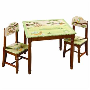 Guidecraft Papagayo Collection Table &amp; Chairs Set