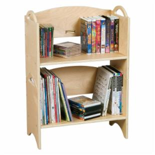 Guidecraft Stacking Bookshelves