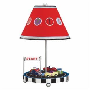 Guidecraft Retro Racers Table Lamp