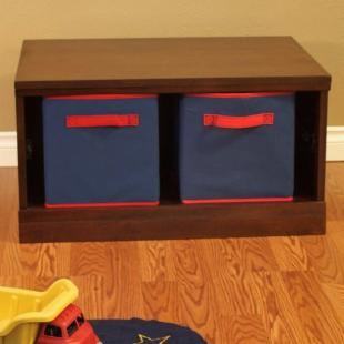 Makena 1 Piece Modular Storage - Open Base
