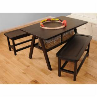 Drew Kids 3 pc. Play Table with 2 Benches