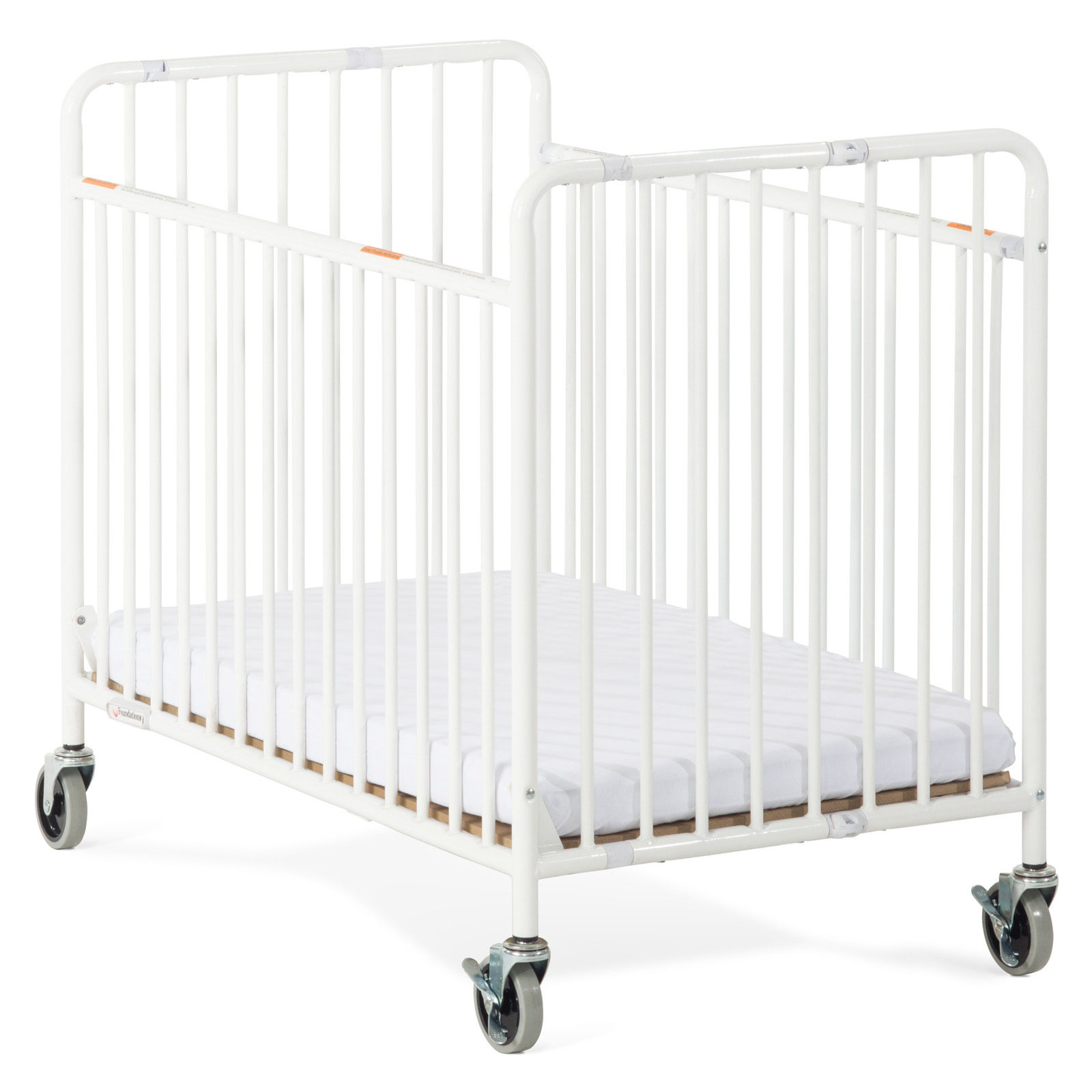 Foundations StowAway Folding pact Size Crib with