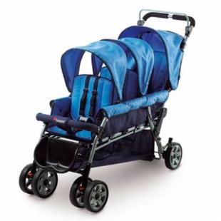 Foundations The Trio Triple Tandem Stroller