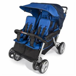Foundations Quad LX 4 Passenger Stroller - Regatta