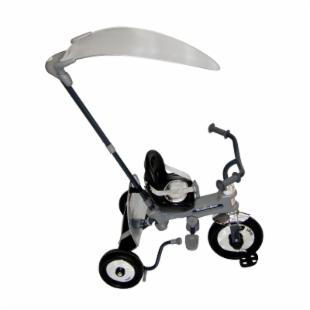 Italtrike Azzurro Toddler Stroller/Tricycle - Silver