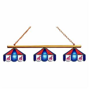 Cleveland Indians 3-Light Billiard Light