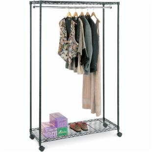 InterMetro Mobile Garment Rolling Rack