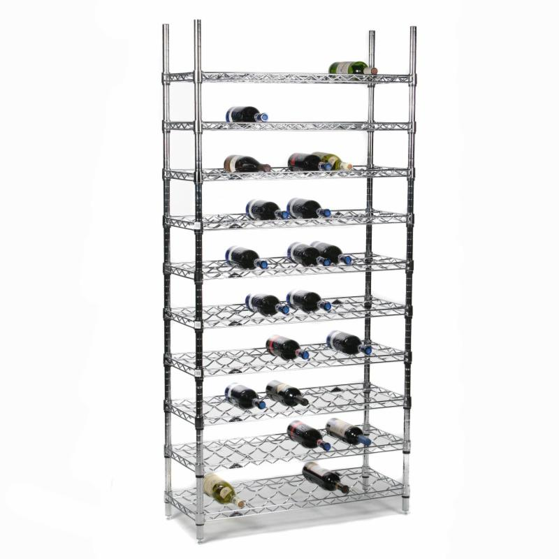 Tiergan 90-Bottle Wine Storage