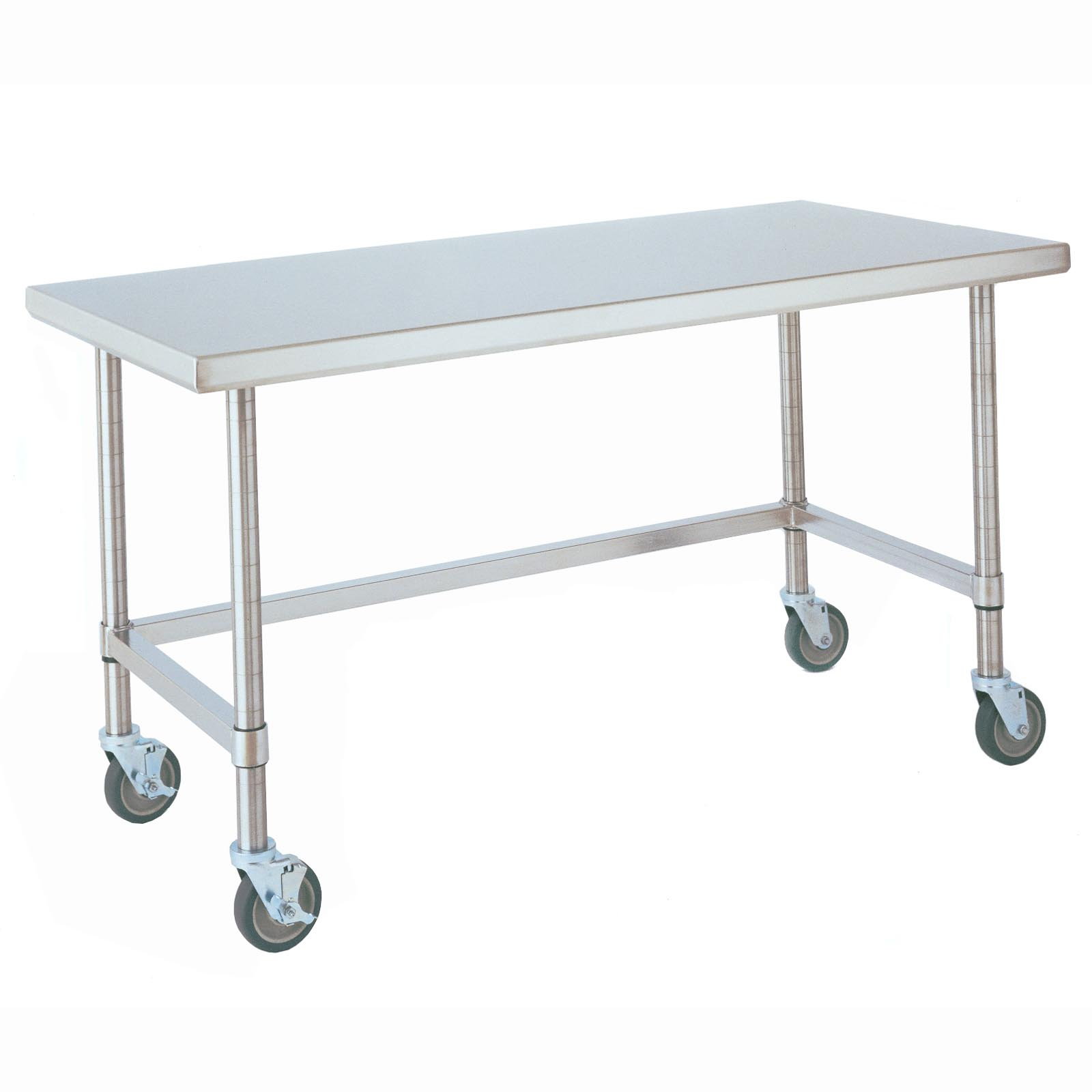 all stainless steel portable kitchen work table serving