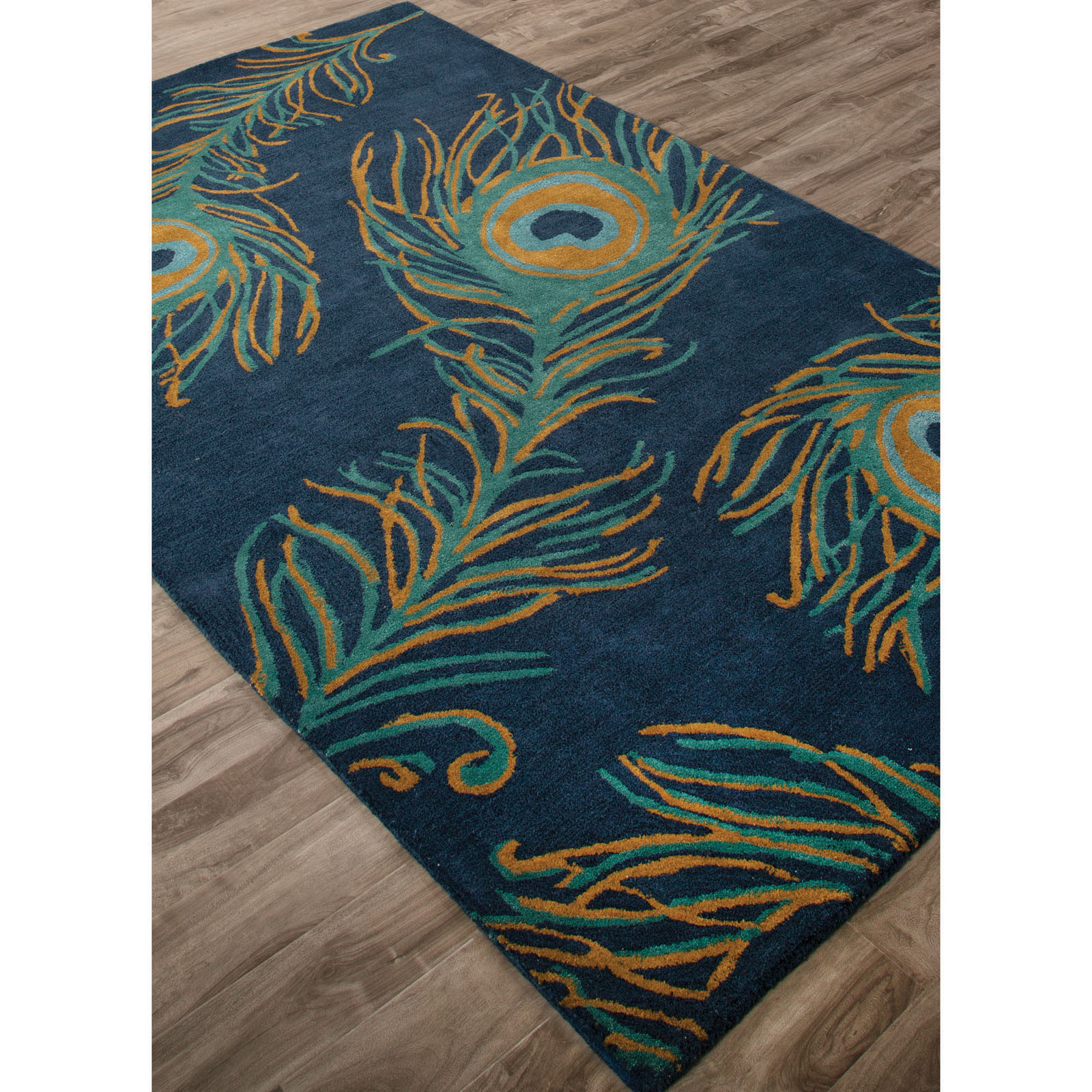 Jaipur Rugs National Geographic Home Collection Peacock