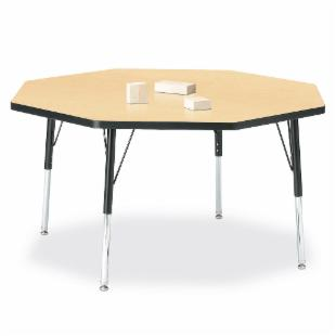 Jonti-Craft RidgeLine Octagon Activity Table