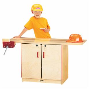 Jonti-Craft Lockable Work Bench