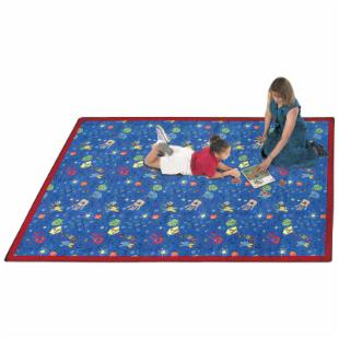 Joy Carpets Scribbles Kids Area Rug - Assorted Colors