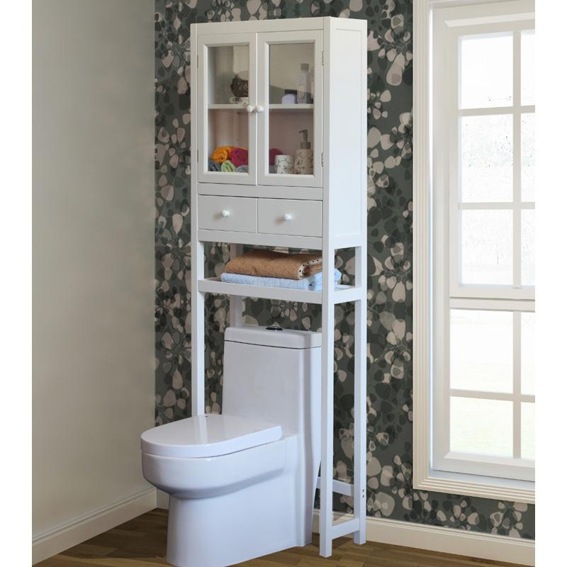 Jeco Space Saver Over-the-Toilet Cabinet - White