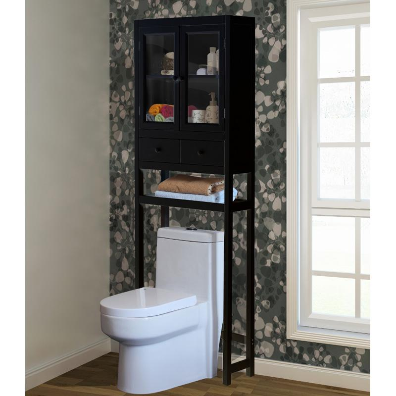 Jeco Space Saver Over-the-Toilet Cabinet - Brown
