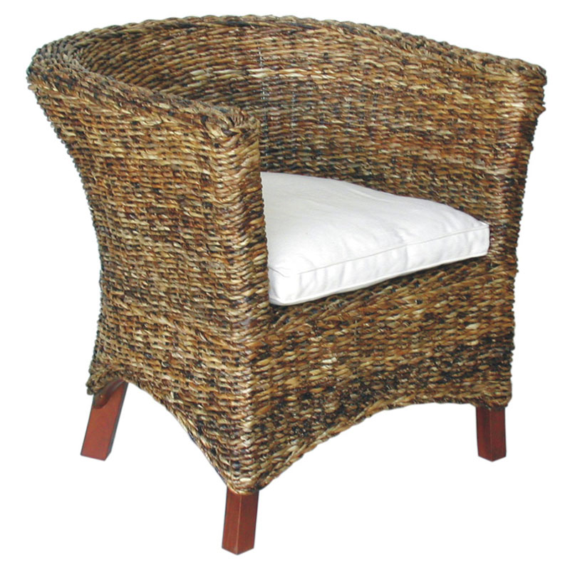 U Chair Abaca Small Astor Accent Chair Accent Chairs At