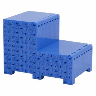 Jekca Homebuilder Lite Convertible Furniture - Blue