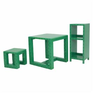 Jekca Homebuilder Advance Convertible Furniture - Green