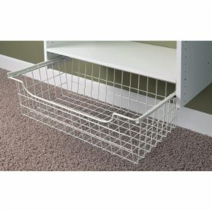 Easy Track Closet 8 in. Wire Basket - 1308