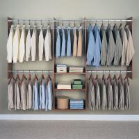 Easy Track Closet 4 - 8 ft. Cherry Finish Tower Closet - RB1460-C