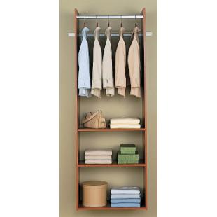 Easy Track Closet 72 in. Cherry Hanging Tower Kit - RV1472-C