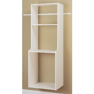 Easy Track Closet White Hanging Hutch Kit - RV2072