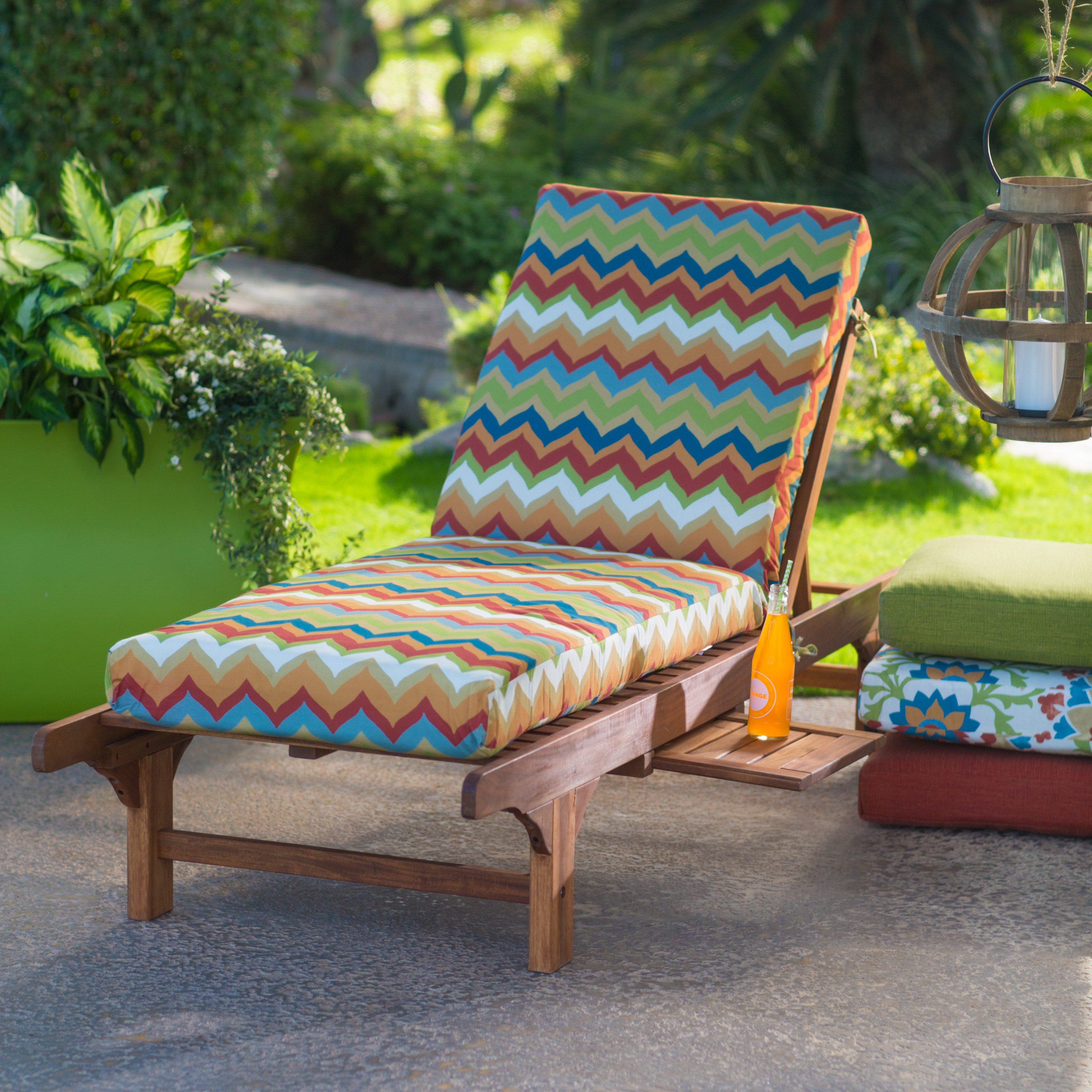 Coral Coast Cantara Outdoor Chaise Lounge Cushion - Boxed ...