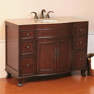 Virtu USA Natalia 48-in. Single Bathroom Vanity LS-1029