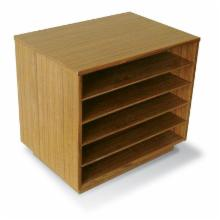  Jesper Solid Teak or Walnut Organizer