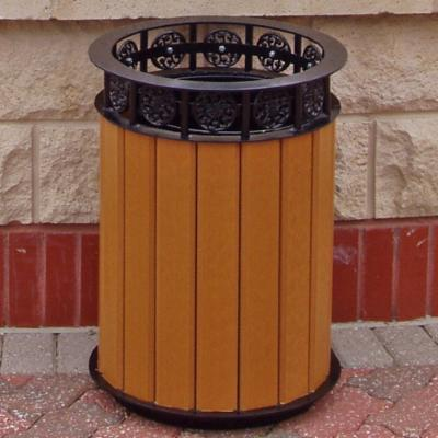 Jayhawk Plastics Jamestown Receptacle