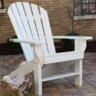 Jayhawk Plastics Recycled Plastic Seaside Adirondack Chair