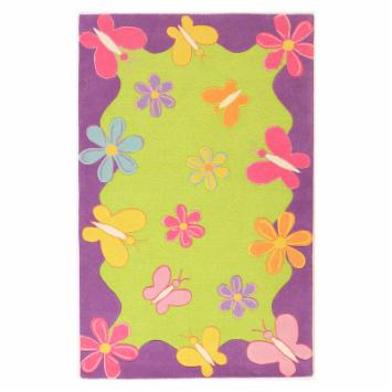  KAS Rugs Kidding Around 421 Springtime Fun Kids Area Rug