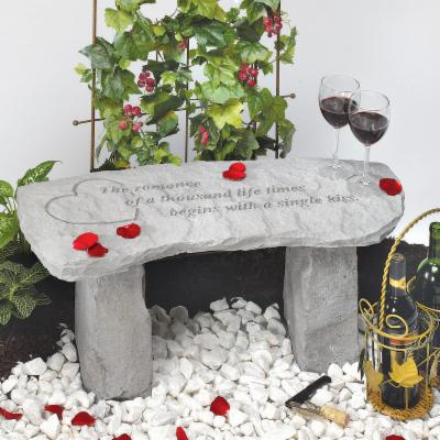 The Romance Of A Thousand Lifetimes  Garden Bench - Small Bench