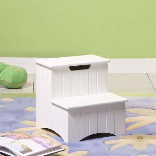 InRoom Designs Storage Step Stool I
